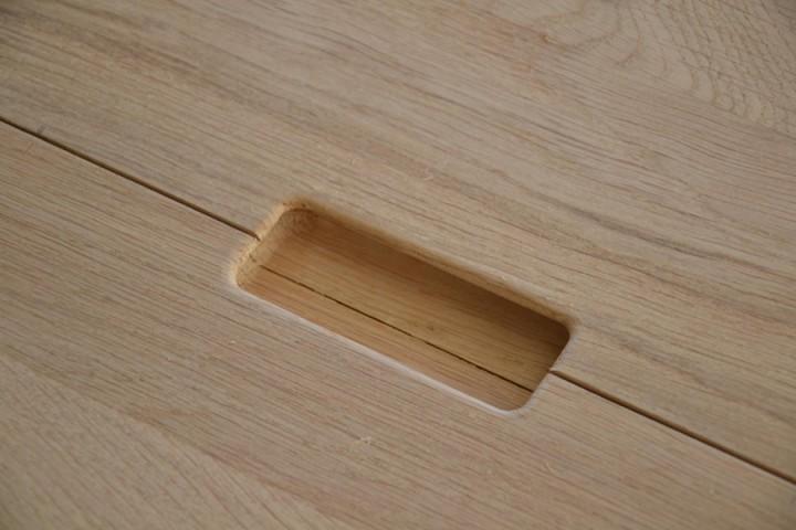 eiken meubel greep