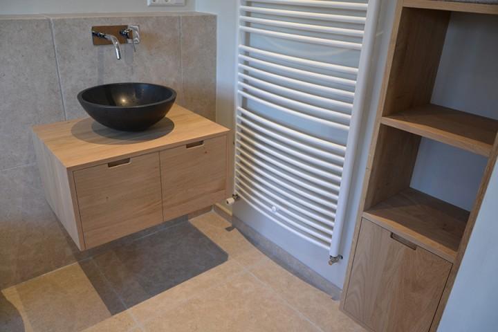 badkamer meubels eiken